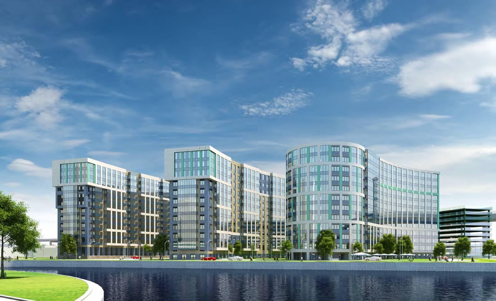 В городе санкт- петербург в приморском районе расположен крупный жилой комплекс под названием юбилейный