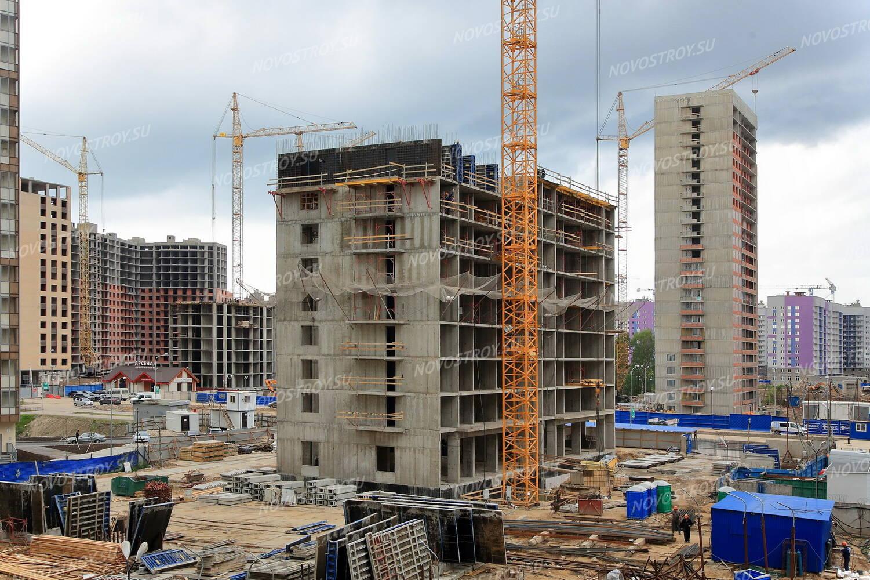 жк виктория мавис ход строительства 2016 год первые